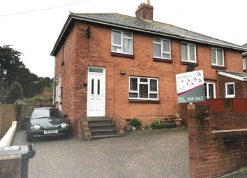 Thumbnail 3 bed semi-detached house for sale in Shirecroft Road, Weymouth