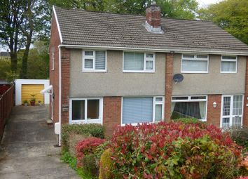 Thumbnail 3 bed property for sale in Trevallen Avenue, Cimla, Neath .