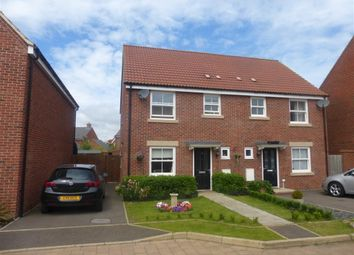 Thumbnail 3 bedroom semi-detached house for sale in Swift Way, Wixams, Bedford