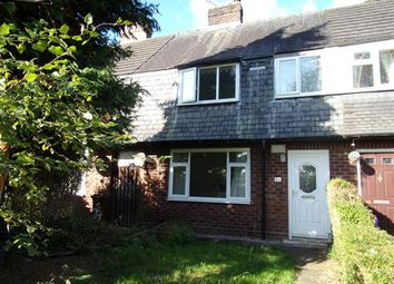 Thumbnail 3 bed terraced house for sale in Mersey Crescent, West Didsbury, Manchester