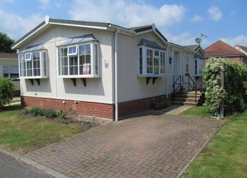 Thumbnail 2 bed mobile/park home for sale in Waveney Park (Ref 5609), Diss, Norfolk