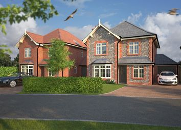 Woodlark Gardens, The Avenue, Hambrook, Chichester PO18. 3 bed detached house for sale