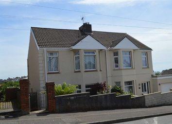 Thumbnail 3 bed semi-detached house for sale in Lon Mafon, Swansea