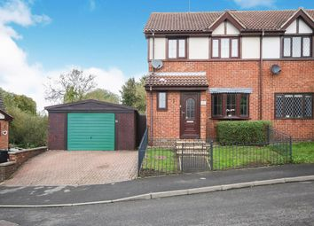 Thumbnail 3 bed semi-detached house for sale in Holly Close, Grantham, Lincolnshire