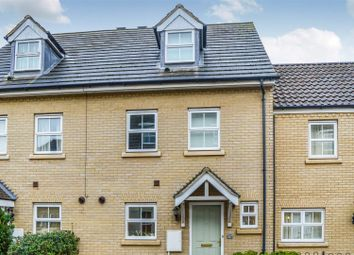 Thumbnail 3 bed town house to rent in Christie Drive, Huntingdon