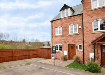 Thumbnail 4 bedroom end terrace house for sale in Kempson View, Bromyard, Herefordshire