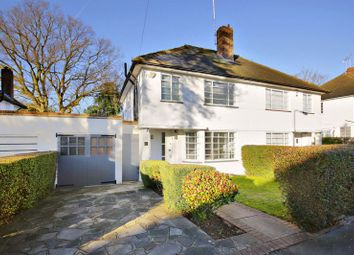 Thumbnail 4 bed semi-detached house for sale in Ludlow Way, Hampstead Garden Suburb, London