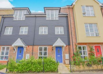 Thumbnail 4 bed terraced house for sale in Gwendoline Buck Drive, Aylesbury, Buckinghamshire, ..