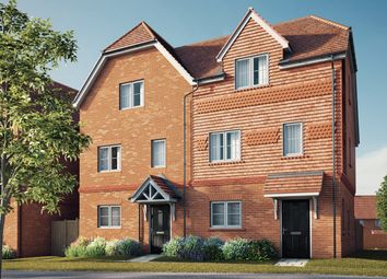 "Thumbnail 4 bed semi-detached house for sale in ""The Ash"" at Brimblecombe Close, Wokingham"