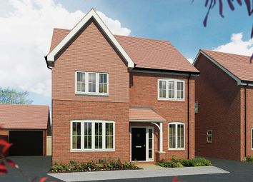 "Thumbnail 4 bed detached house for sale in ""The Aspen"" at Maddoxford Lane, Botley, Southampton"