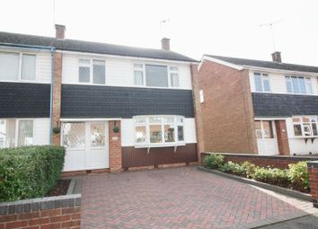 Thumbnail 3 bed end terrace house for sale in Drayton Crescent, Coventry