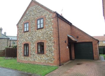 Thumbnail 3 bed detached house to rent in Back Lane, Wereham