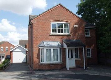 Thumbnail 4 bed detached house to rent in Fludes Court, Oadby