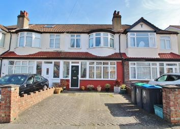 Thumbnail 3 bed terraced house for sale in Cranborne Avenue, Surbiton, Surrey