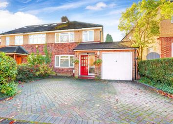 Thumbnail 3 bed semi-detached house for sale in Pondfield Crescent, St. Albans