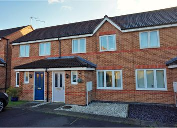 Thumbnail 2 bed terraced house for sale in Harricot Close, Lincoln