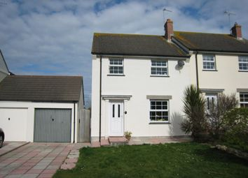 Thumbnail 4 bedroom semi-detached house for sale in St. Petry, Goldsithney, Penzance