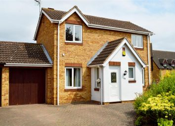 Thumbnail 4 bed detached house for sale in Baron Court, Werrington, Peterborough