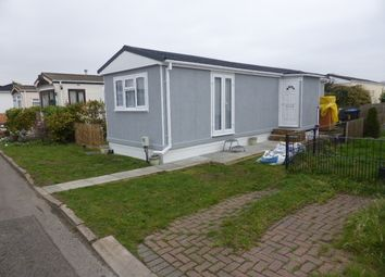 Thumbnail 1 bed mobile/park home for sale in Wey Avenue, Penton Park, Chertsey
