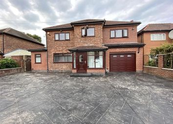 Thumbnail 5 bed detached house to rent in Kingsway, Cheadle, Cheshire