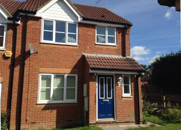 Thumbnail End terrace house to rent in Barber Close, Maidenbower, Crawley