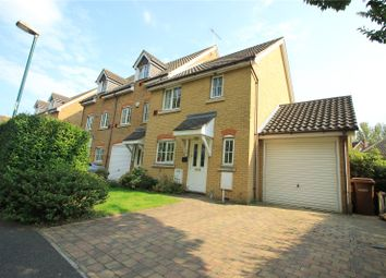 Thumbnail 3 bed end terrace house for sale in Guinness Drive, Wainscott, Kent