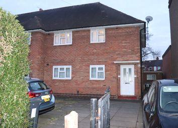 Thumbnail 2 bed maisonette for sale in Fernley Road, Birmingham