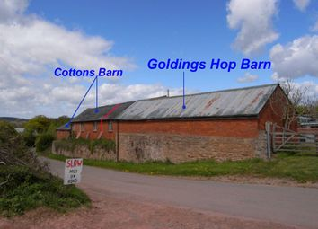 Thumbnail 2 bed barn conversion for sale in Staplow, Ledbury