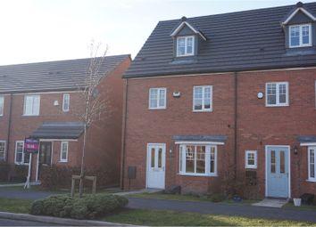 Thumbnail 4 bed semi-detached house for sale in Bretton Avenue, Warrington