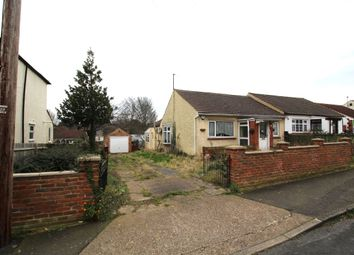 Thumbnail 2 bed bungalow for sale in Ewart Road, Chatham
