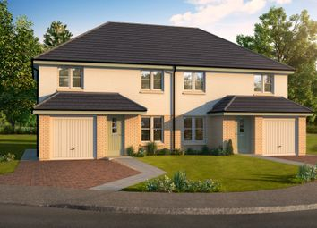 Thumbnail 3 bed detached house for sale in Cawburn Road, Uphall Station