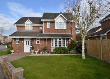 Thumbnail 4 bed detached house for sale in Manchester Close, Weston Heights, Stevenage, Herts