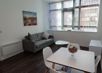 Thumbnail 1 bed flat to rent in Cotton Lofts, Fabrick Square, Birmingham