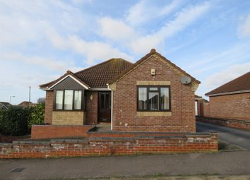 Thumbnail 2 bed detached bungalow for sale in Pentland Walk, Lowestoft