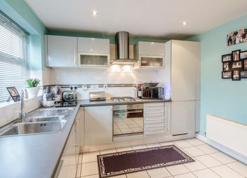 Thumbnail 4 bed town house for sale in Pegg Court, Burton-On-Trent, Staffordshire