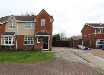 Thumbnail 3 bed semi-detached house for sale in Atlanta Court, Hull