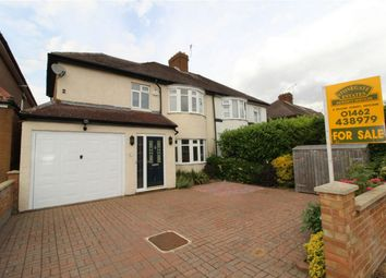 Thumbnail 5 bedroom semi-detached house for sale in Periwinkle Lane, Hitchin, Hertfordshire