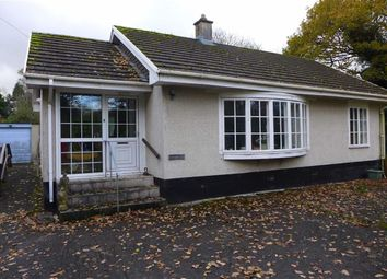 Thumbnail 2 bed bungalow for sale in Ystrad Meurig, Ceredigion