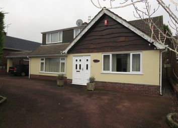 Thumbnail 4 bed detached bungalow for sale in Geneva Drive, Westlands, Newcastle, Staffordshire