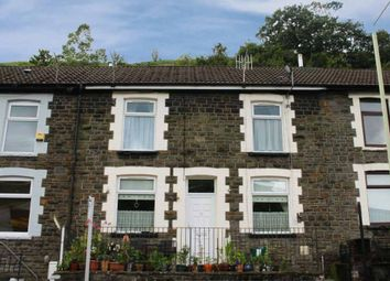 Thumbnail 3 bed terraced house for sale in Oakland Terrace, Ferndale, Mid Glamorgan