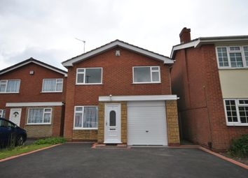 Thumbnail 3 bed detached house to rent in Nairn Close, Hall Green, Birmingham