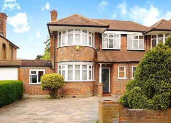 Thumbnail 3 bed semi-detached house for sale in Deanecroft Road, Eastcote, Pinner