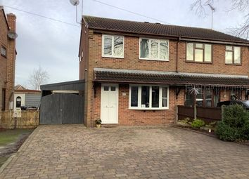 Thumbnail 3 bed semi-detached house for sale in Albert Road, Church Gresley