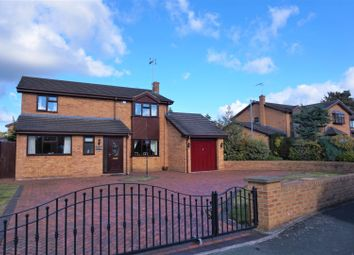 Thumbnail 4 bed detached house for sale in Ffordd Ystrad, Wrexham