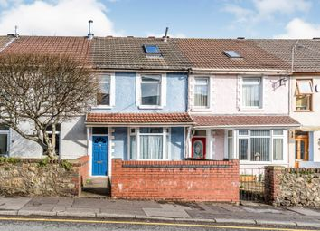 Thumbnail 3 bed terraced house for sale in Tycoch Road, Sketty, Swansea