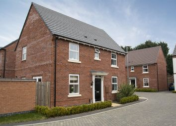 Thumbnail 3 bed detached house for sale in Cedric Drive, Ashby-De-La-Zouch