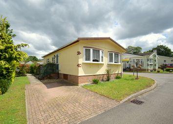 Thumbnail 2 bed detached bungalow for sale in Shepherds Grove Park, Stanton, Bury St. Edmunds