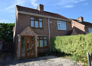 Thumbnail 3 bed semi-detached house for sale in Cranford Avenue, Church Crookham, Fleet