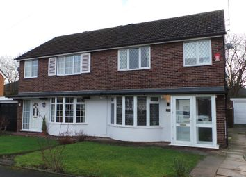 Thumbnail 3 bed semi-detached house to rent in Chessington Crescent, Trentham, Stoke-On-Trent