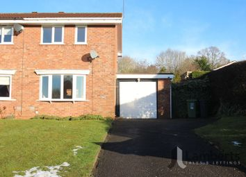 Thumbnail 2 bed semi-detached house for sale in Bascote Close, Headless Cross, Redditch